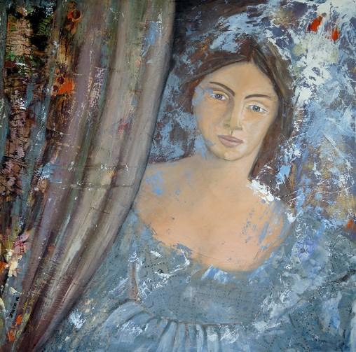 Damoiselle Joce artiste peintre